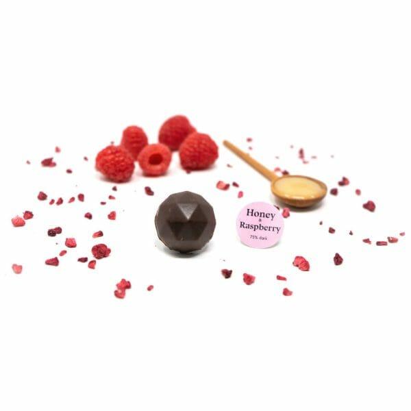 Raspberry Honey Bonbon